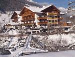 Rakouský hotel Rastbichlhof v zimě