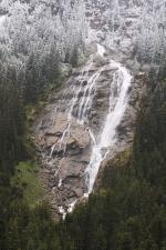 Rakouský vodopád Grawa